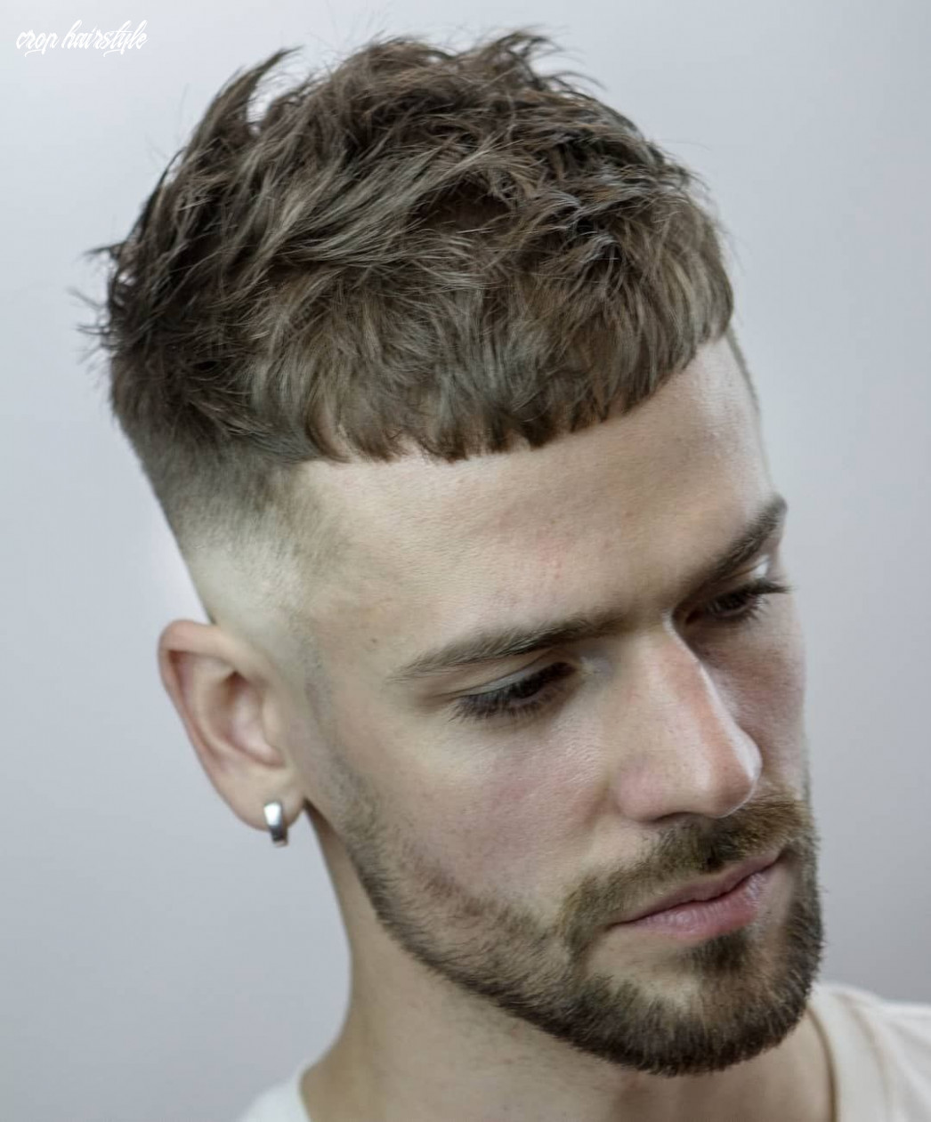 French crop fade 10 best mens hairstyle variations | crop