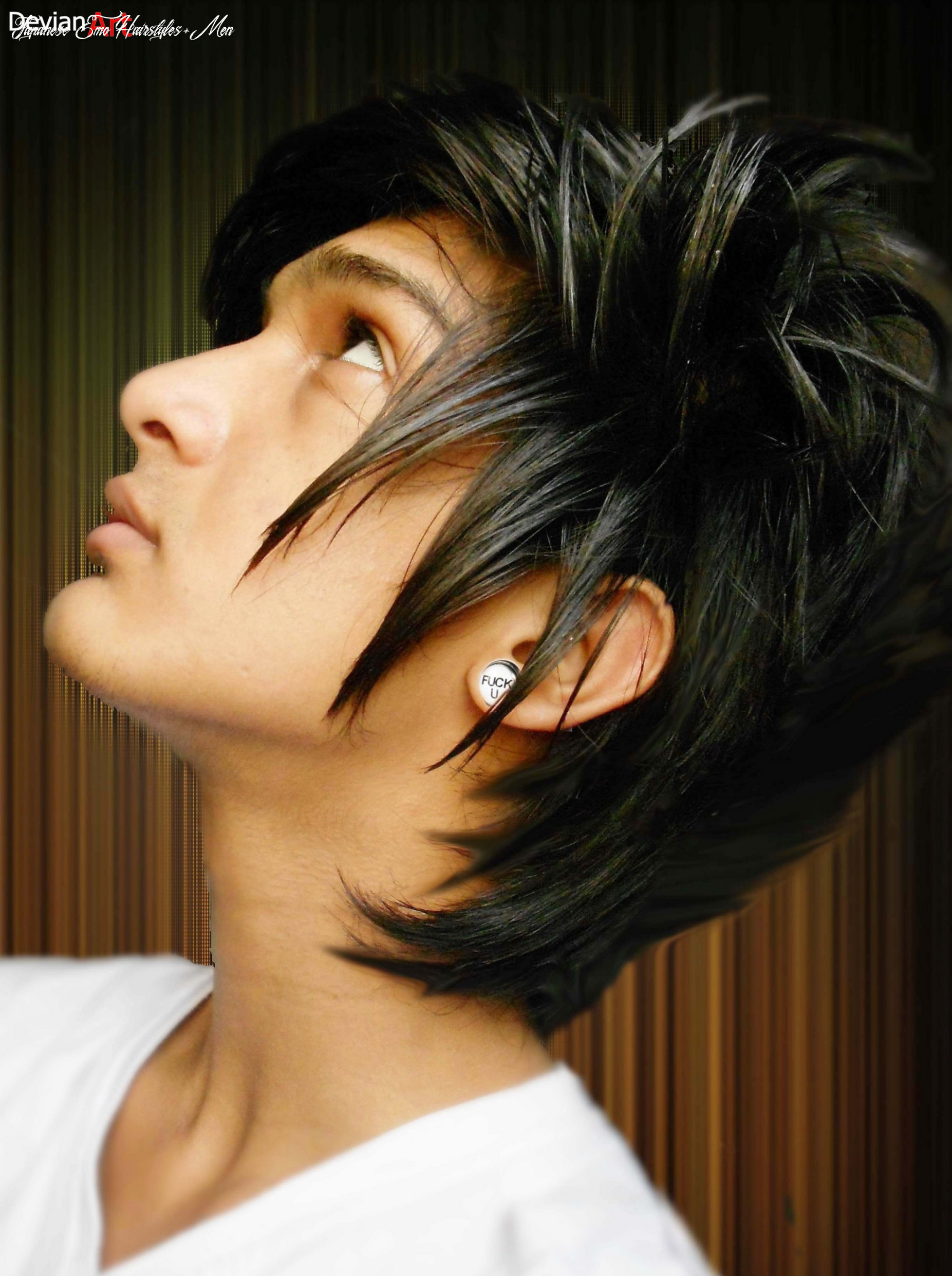 Hairstyle for men sexy new haircut for boys japanese boys foto