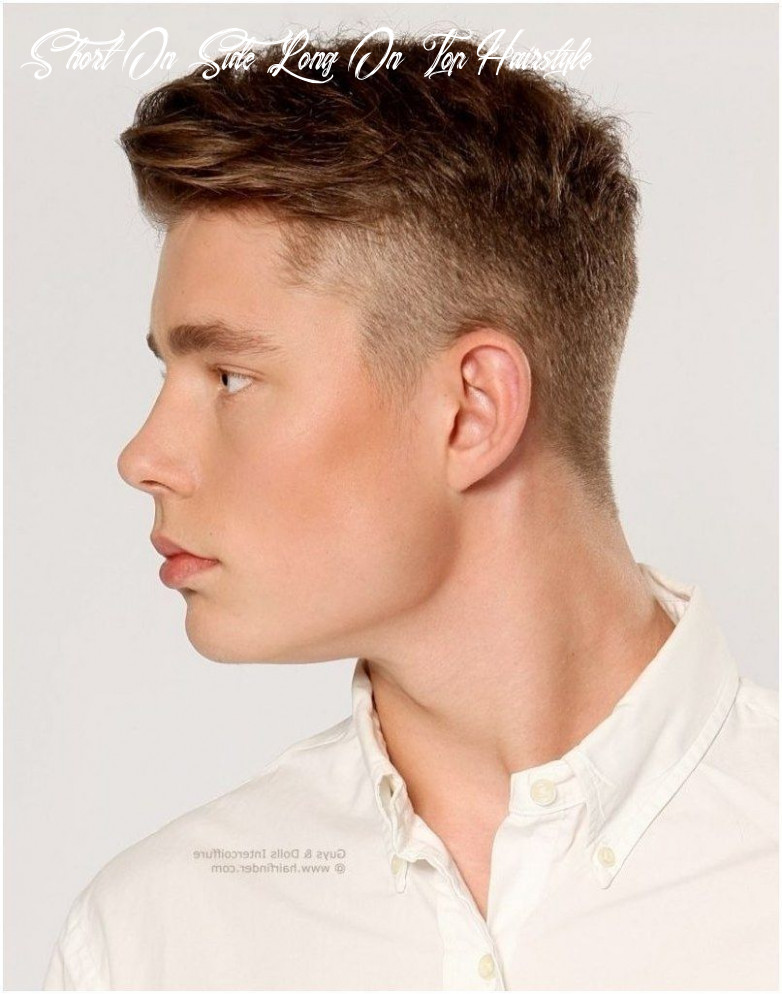 Hairstyles for boys long top short side in 10   mens hairstyles