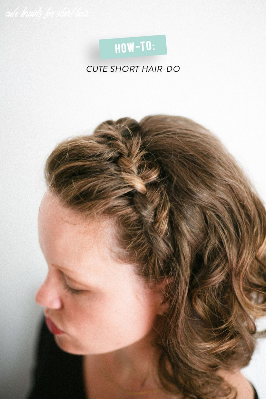 How to: braided do for short hair | really short hair, braids for