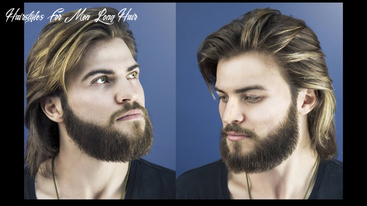 How to cut and style long hair for men collar length sweep back hairstyles for men long hair