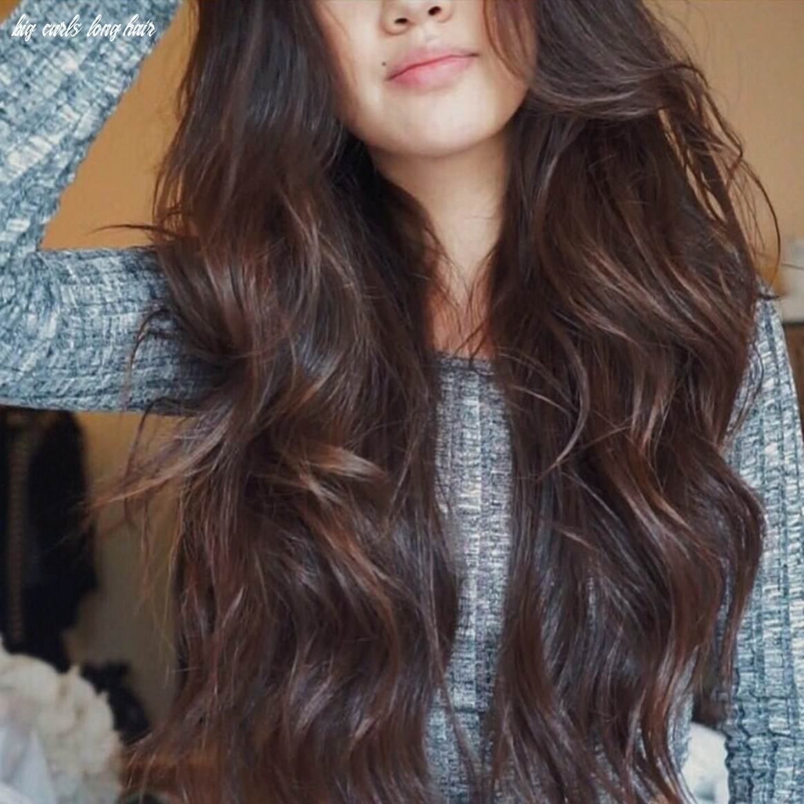 How to get loose curls fashionista big curls long hair