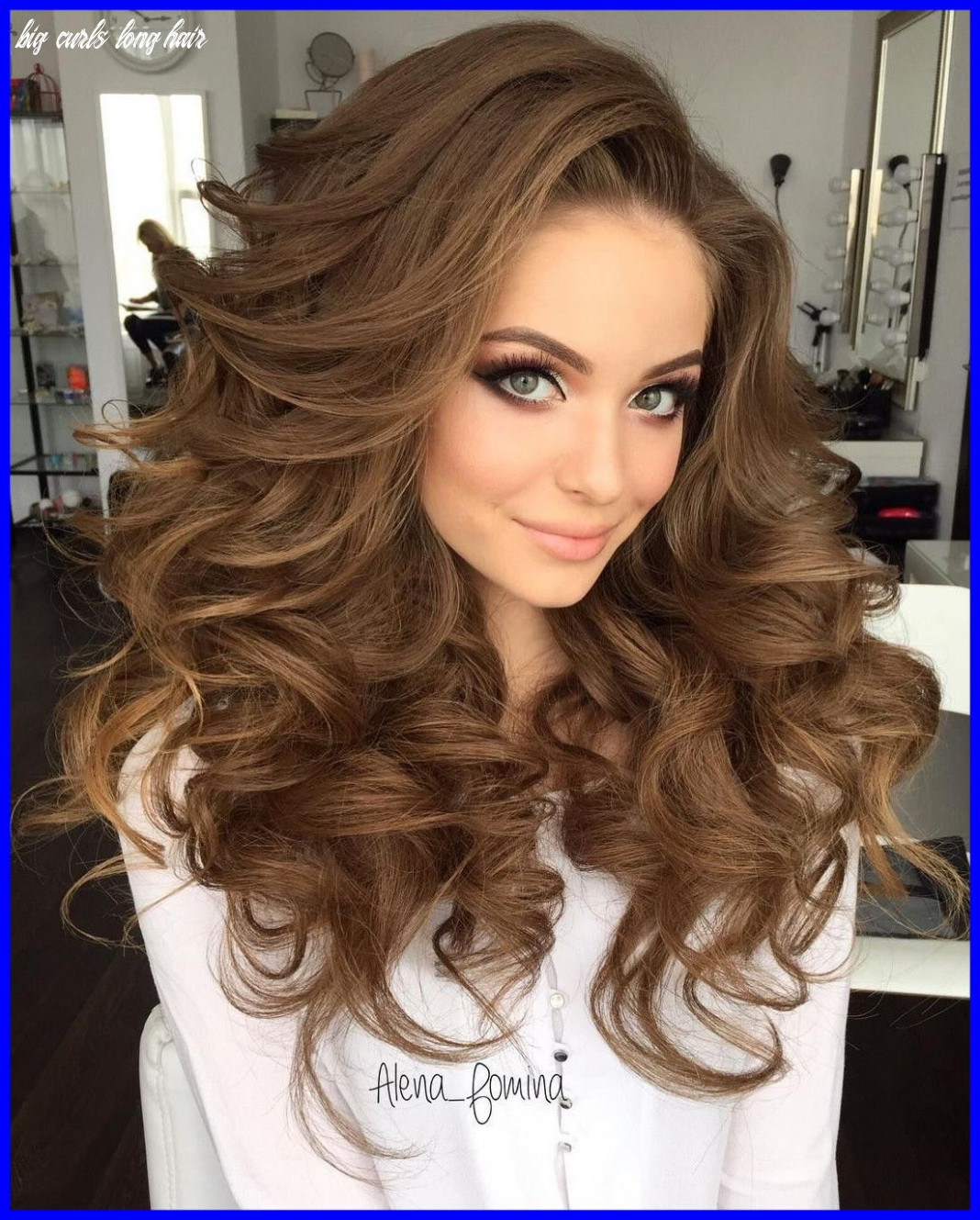 Image result for hairstyles for frizzy curly long hair   long hair