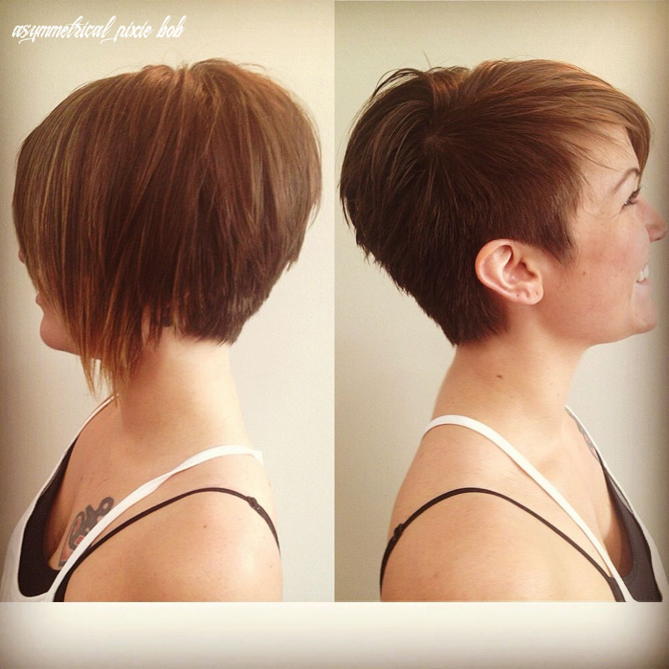 Like the left picture for both sides) asymmetrical pixie   styling