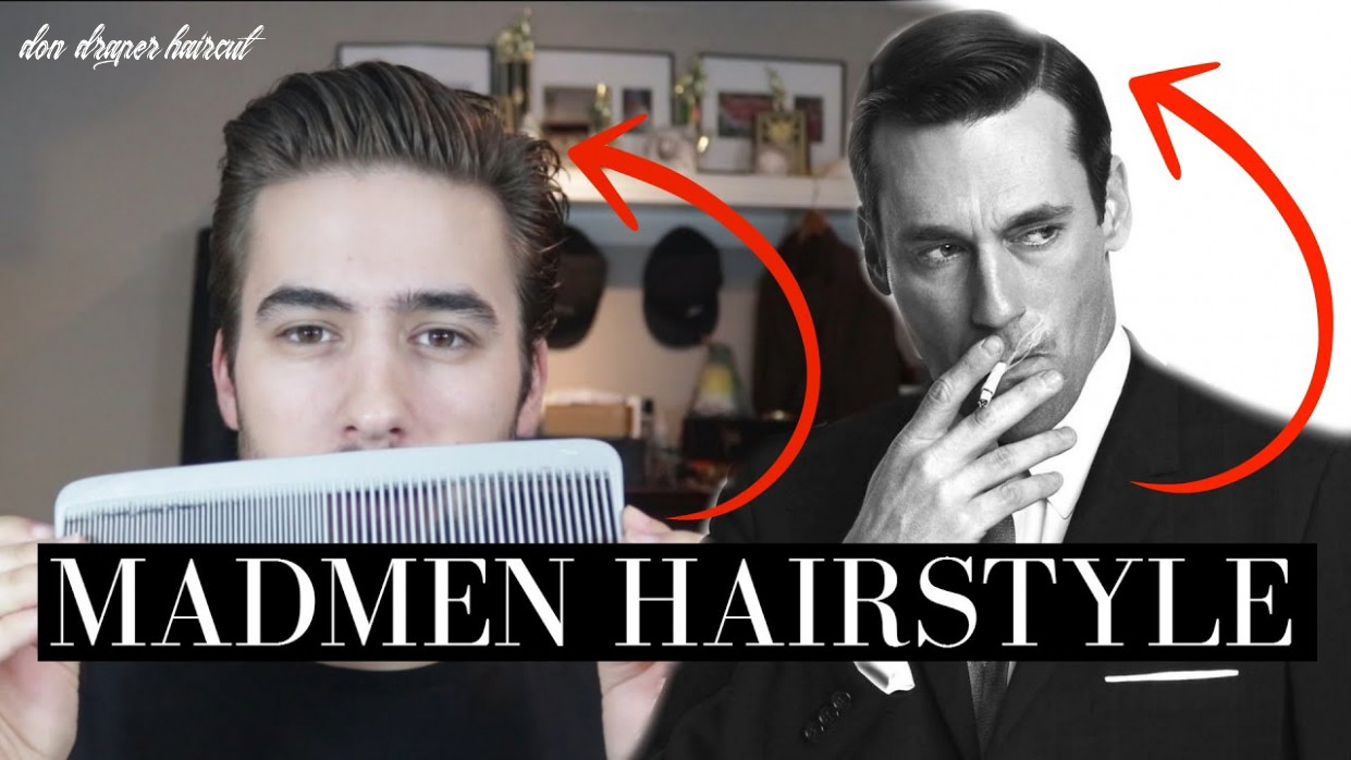 Madmen/don draper hairstyle | iconic hairstyle | chaptr update don draper haircut