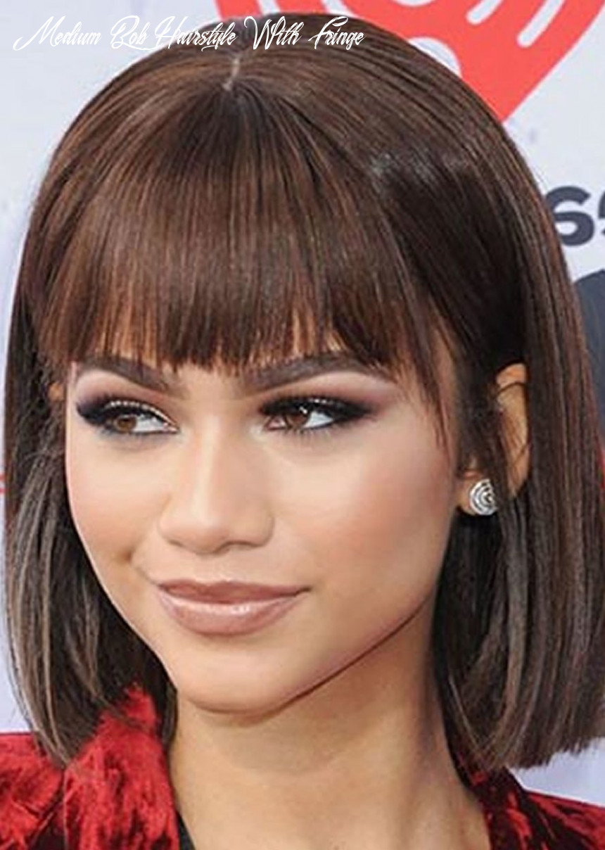 Medium bob haircuts with bangs | find your perfect hair style medium bob hairstyle with fringe