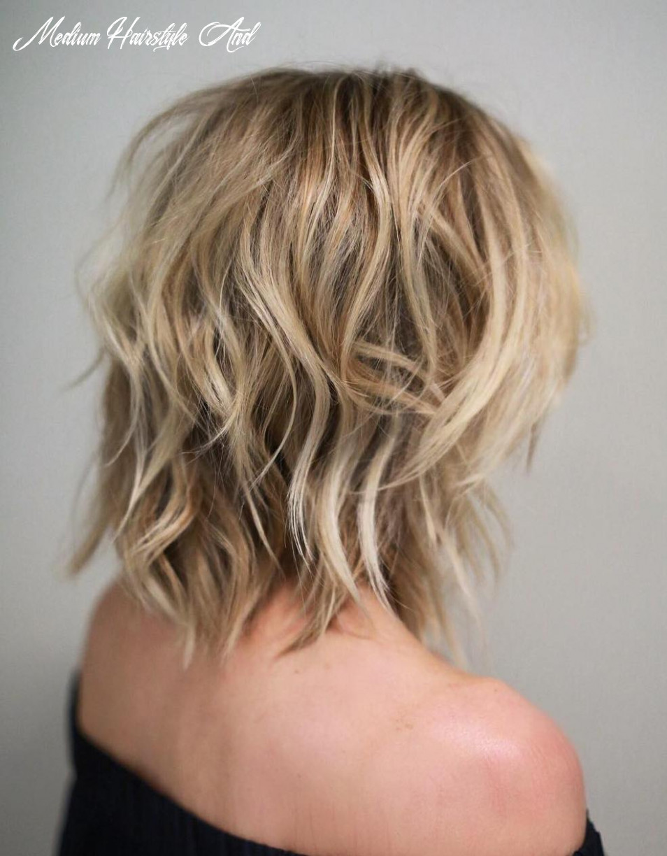 Medium hairstyles and haircuts for shoulder length hair in 12 — trhs medium hairstyle and