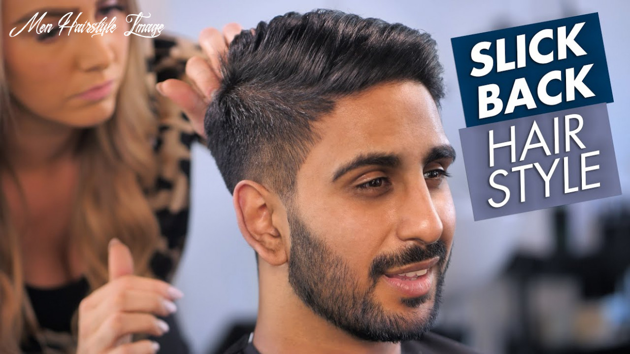 Men hairstyle slick back for summer 12 men hairstyle image