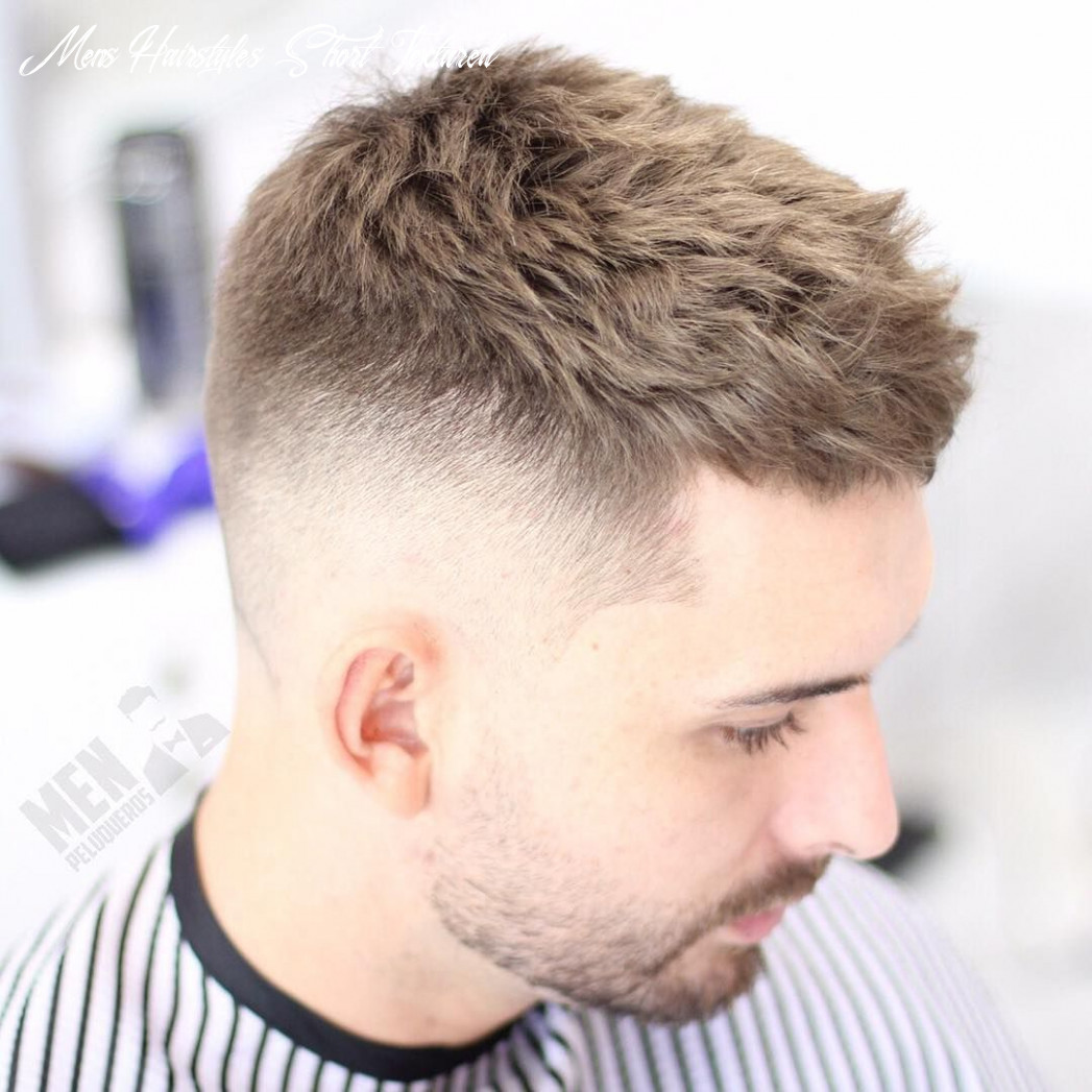 Messy textured haircut and hairstyles for men   mens hairstyles