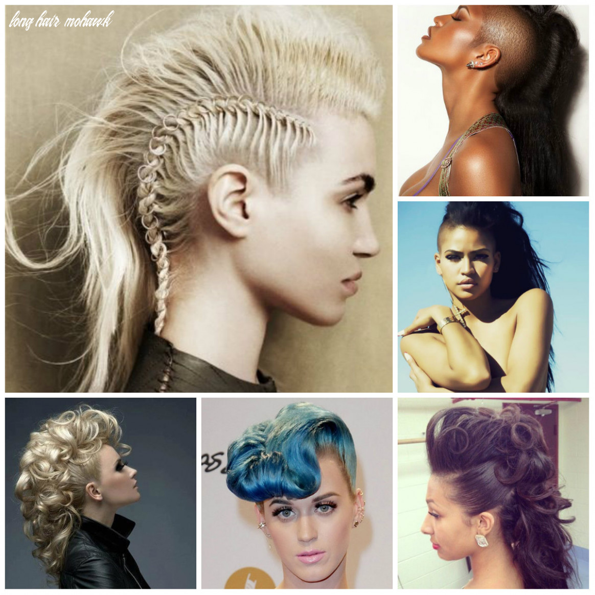 Mohawk hairstyle for long hair hairstyleto long hair mohawk