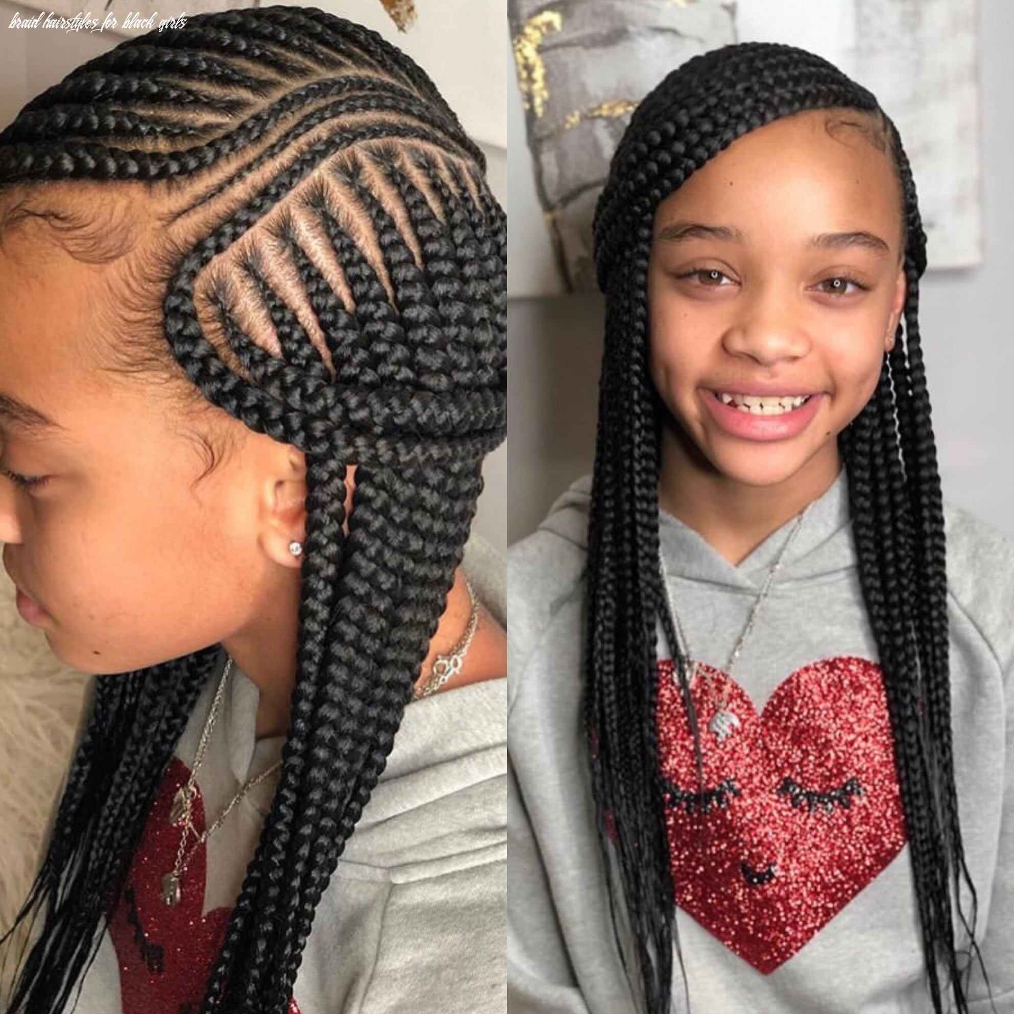 Pin by ariel robinson on braids!! (with images) | girls hairstyles