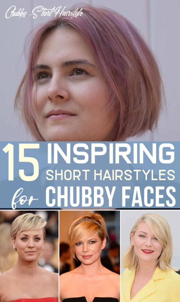 Pin on cute hairstyles chubby short hairstyle