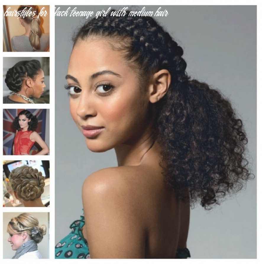 Pin on easy natural hairstyles hairstyles for black teenage girl with medium hair