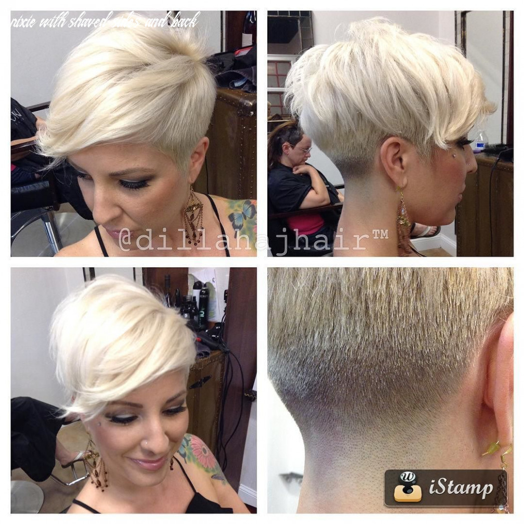 Pin on growing out a pixie pixie with shaved sides and back