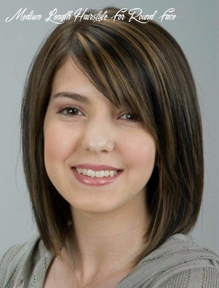 Pin on hair styles medium length hairstyle for round face