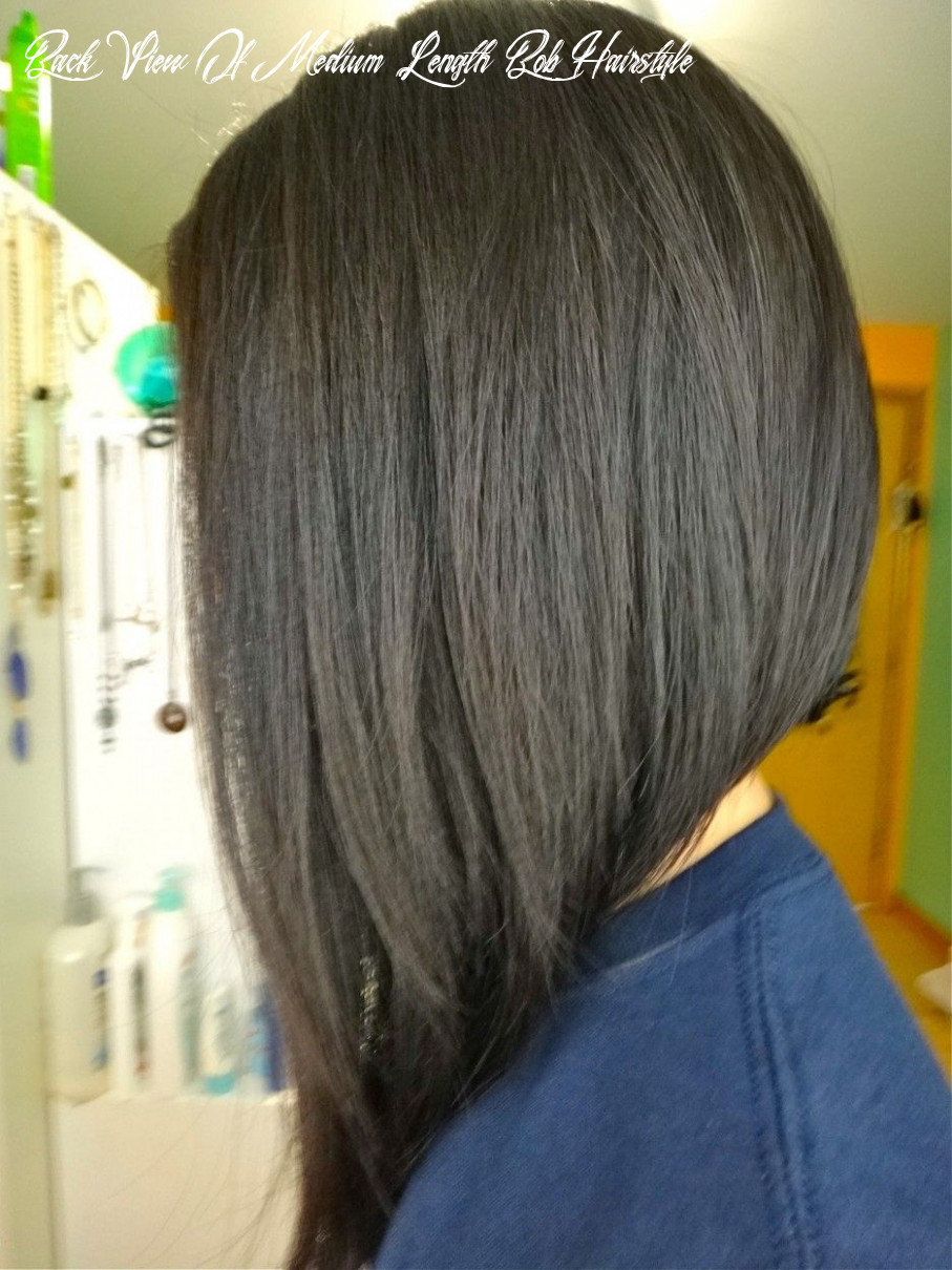 Pin on hairstyles back view of medium length bob hairstyle