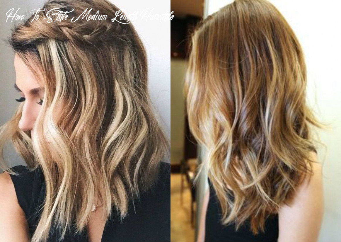 Pin on hairstyles how to style medium length hairstyle