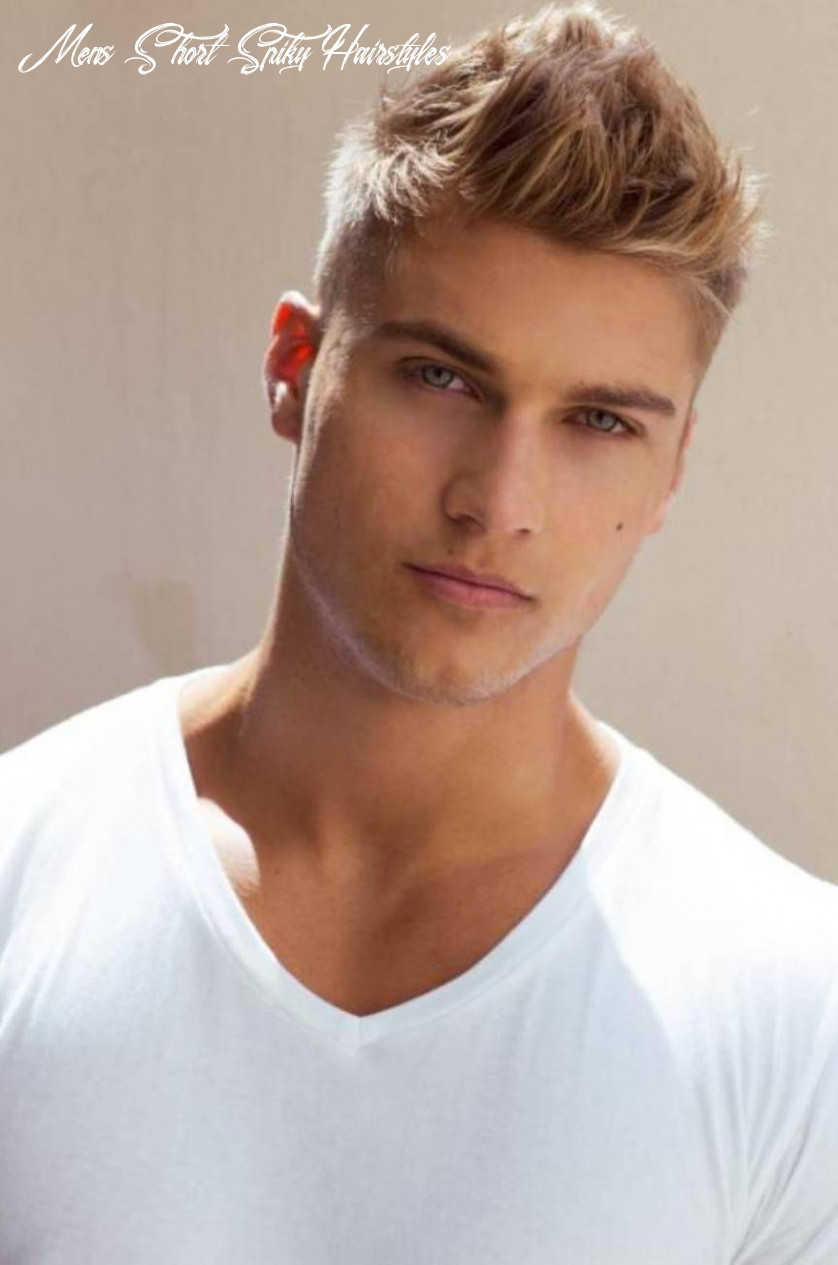Pin on hairstyles mens short spiky hairstyles