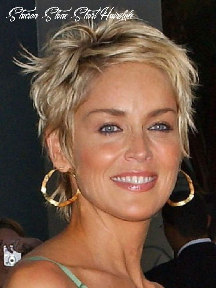 Pin on hairstyles sharon stone short hairstyle