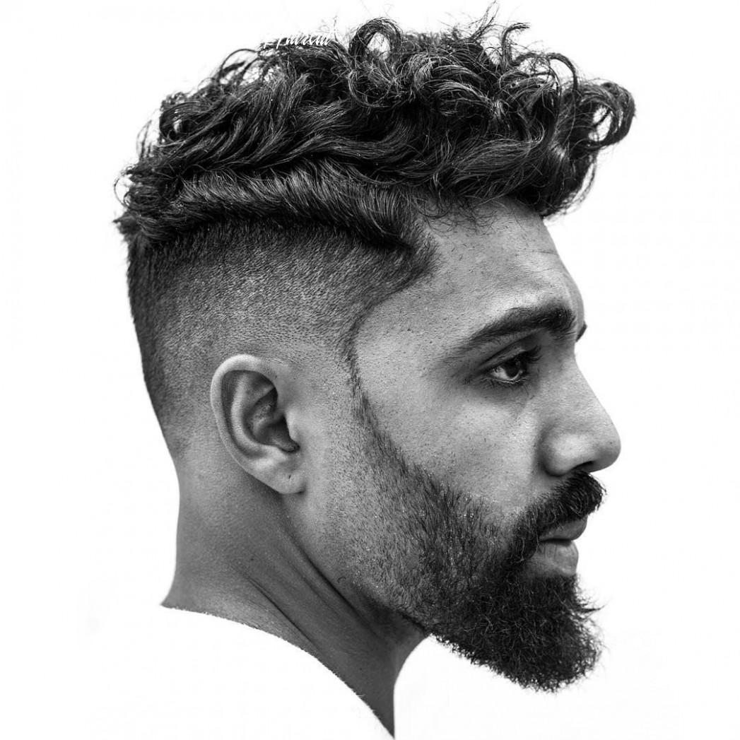 Pin on styles for wavy hair mens wavy pompadour haircut