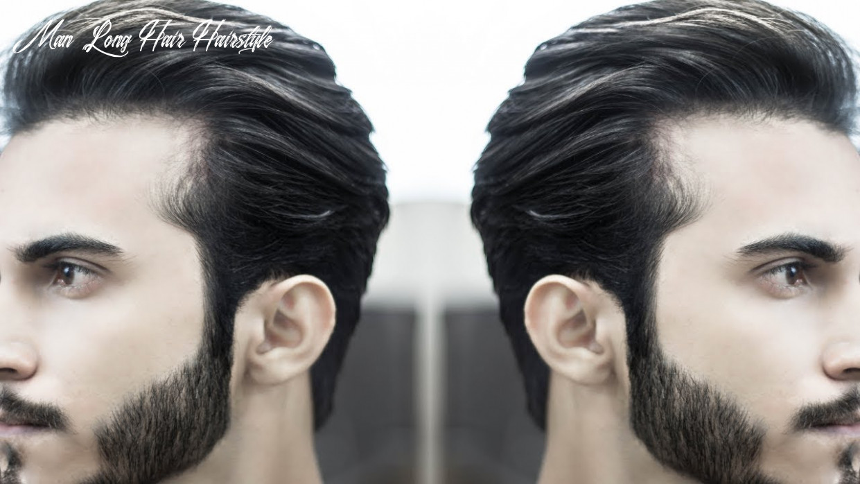Pompadour hairstyle for men | long hair hairstyles men | indian hairstyles men man long hair hairstyle