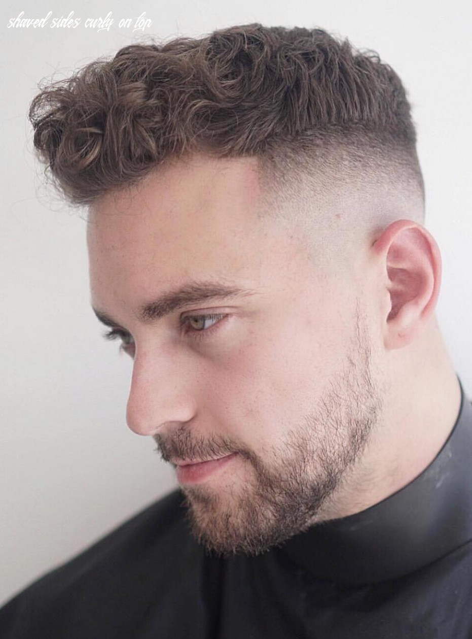 Short back and sides curly on top | find your perfect hair style shaved sides curly on top