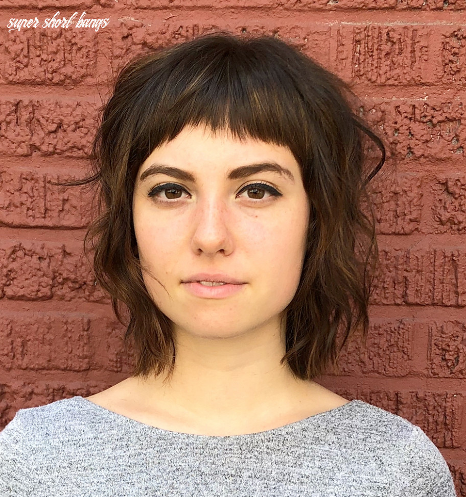 Short bangs as a must have for 12 super short bangs