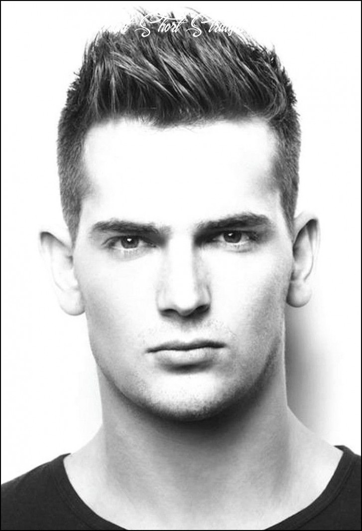 Short haircuts for men with thick straight hair   trendy short
