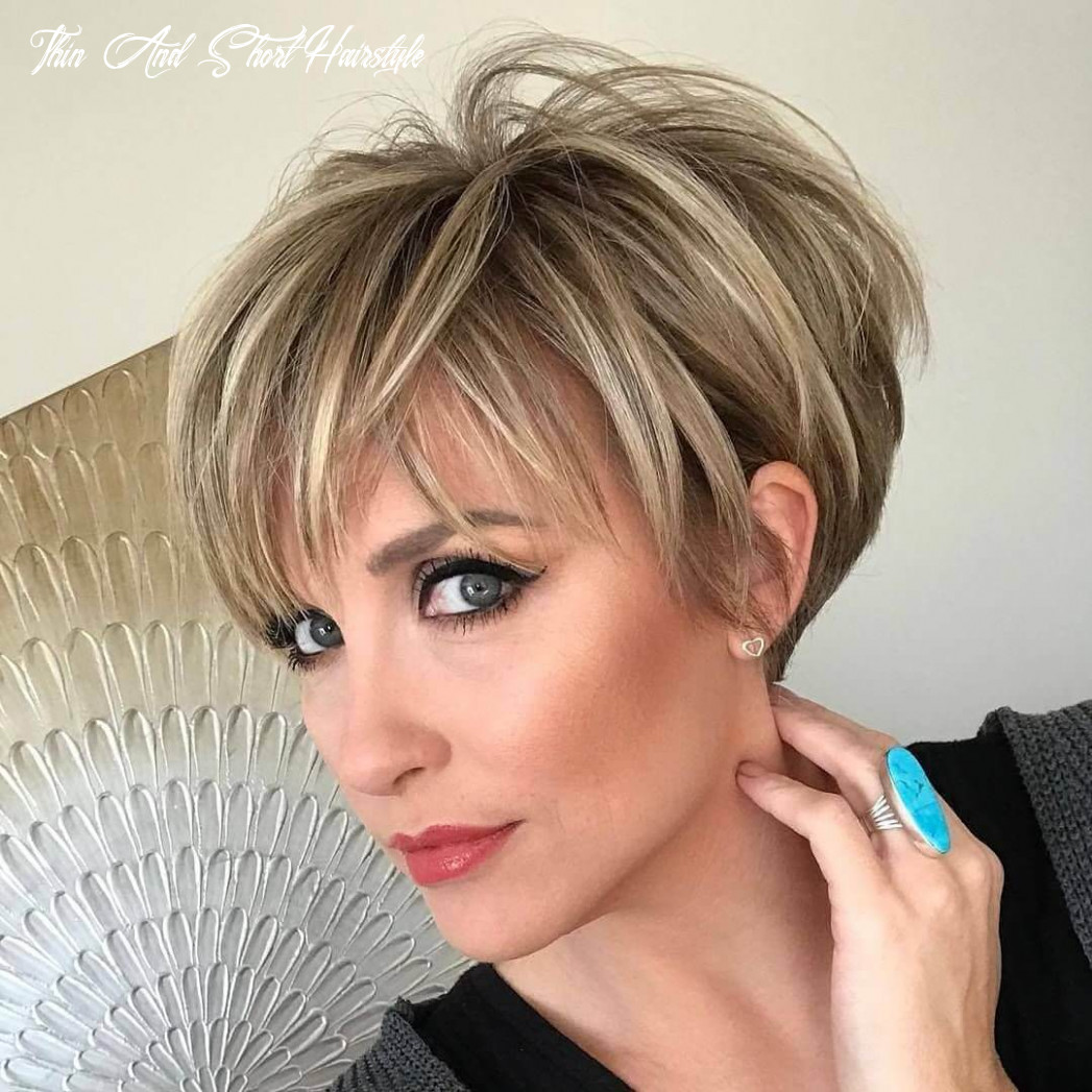 Short haircuts for older women with thin hair 12 thin and short hairstyle
