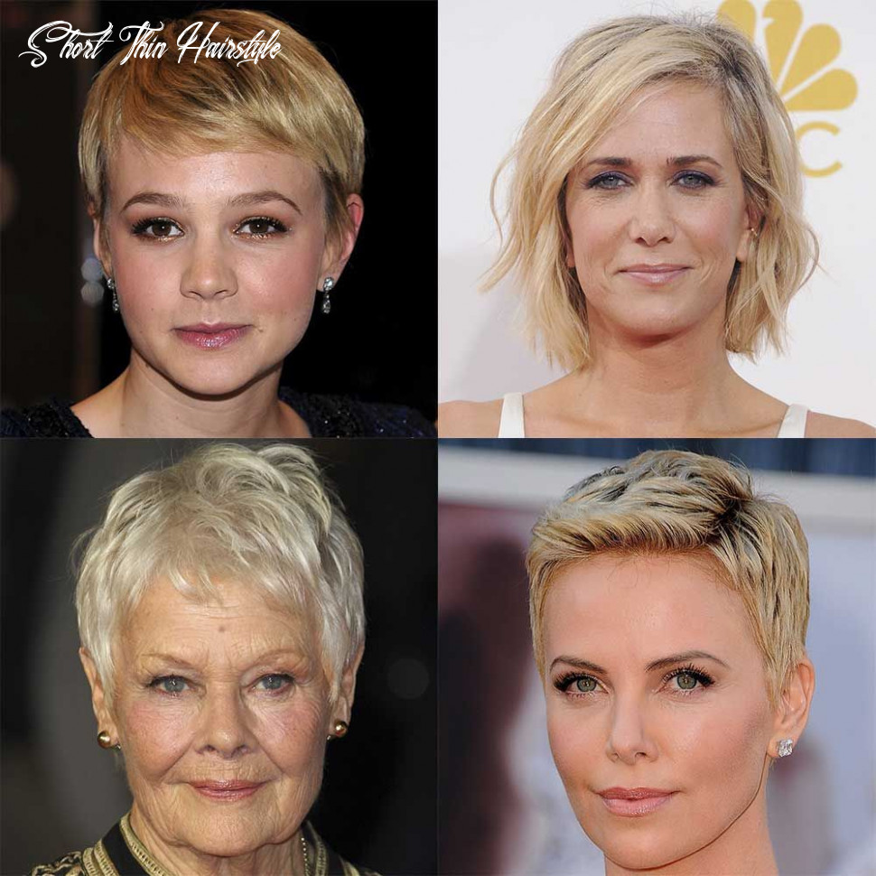 Short hairstyles for fine or thin hair short thin hairstyle