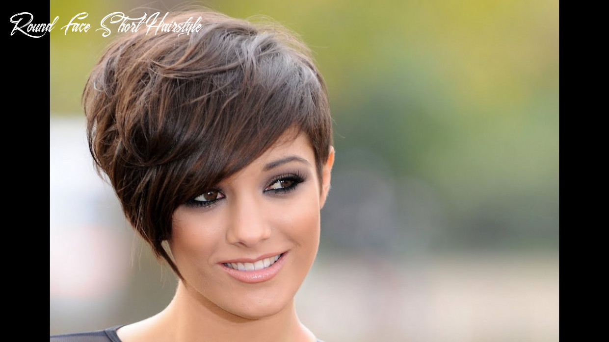 Short hairstyles for round faces and thick hair 9 youtube round face short hairstyle