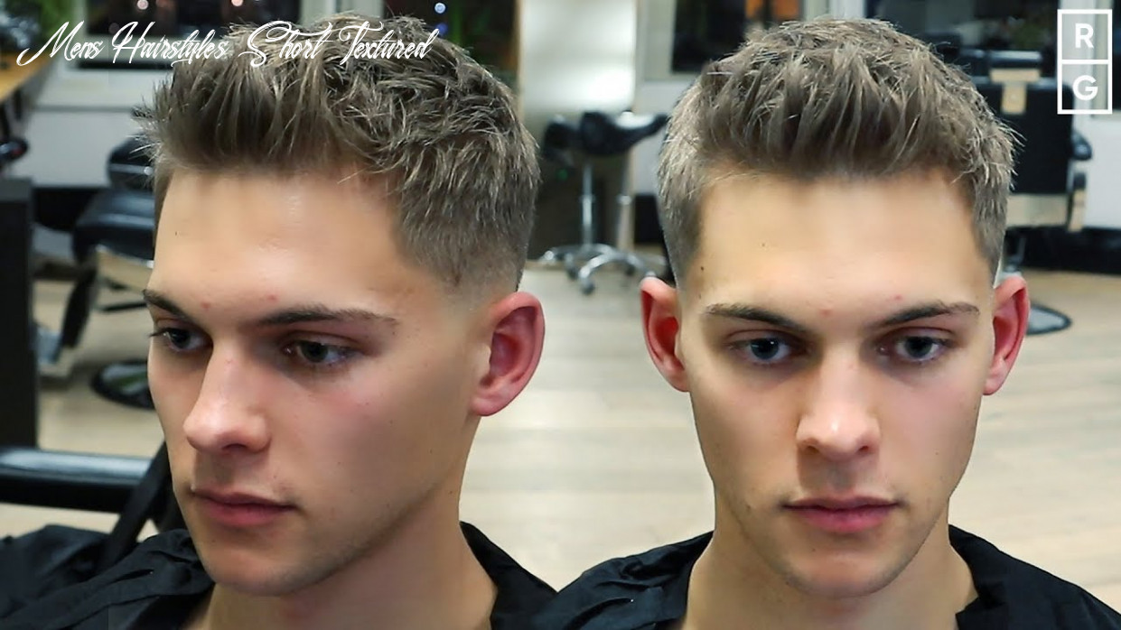 Short textured quiff easy to style mens haircut mens hairstyles short textured
