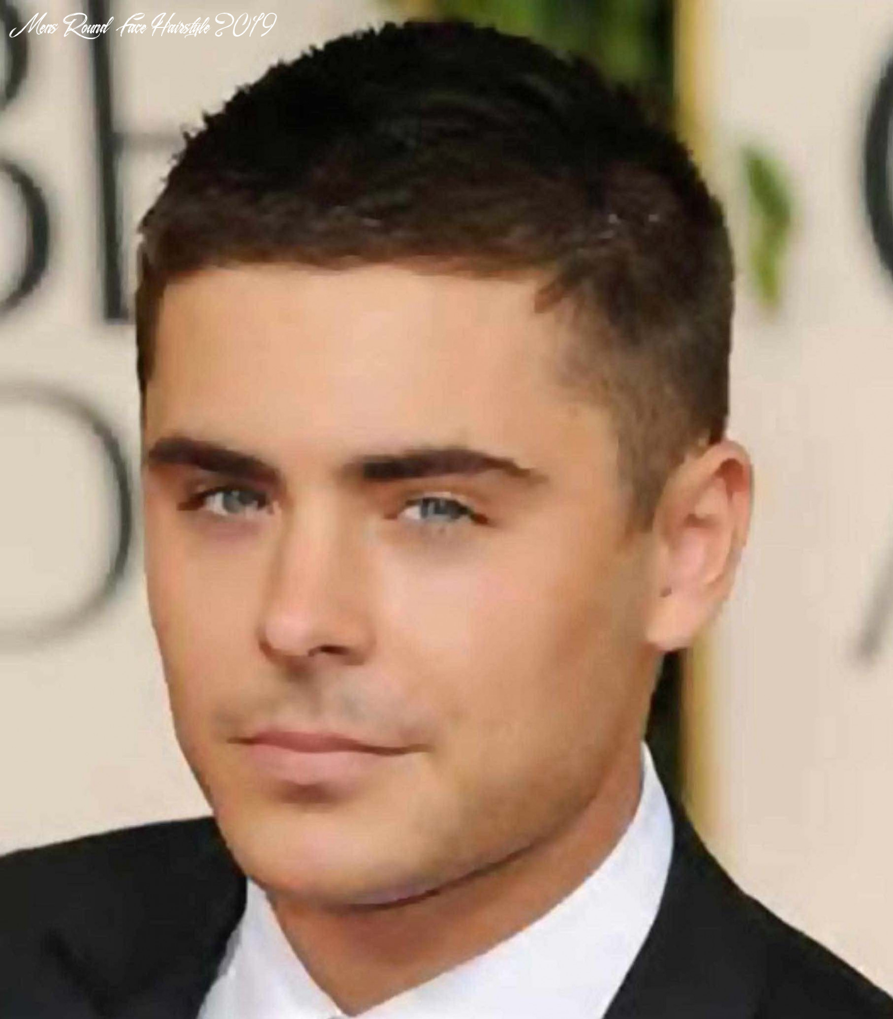 Style : mens hairstyles for thick hair and round face