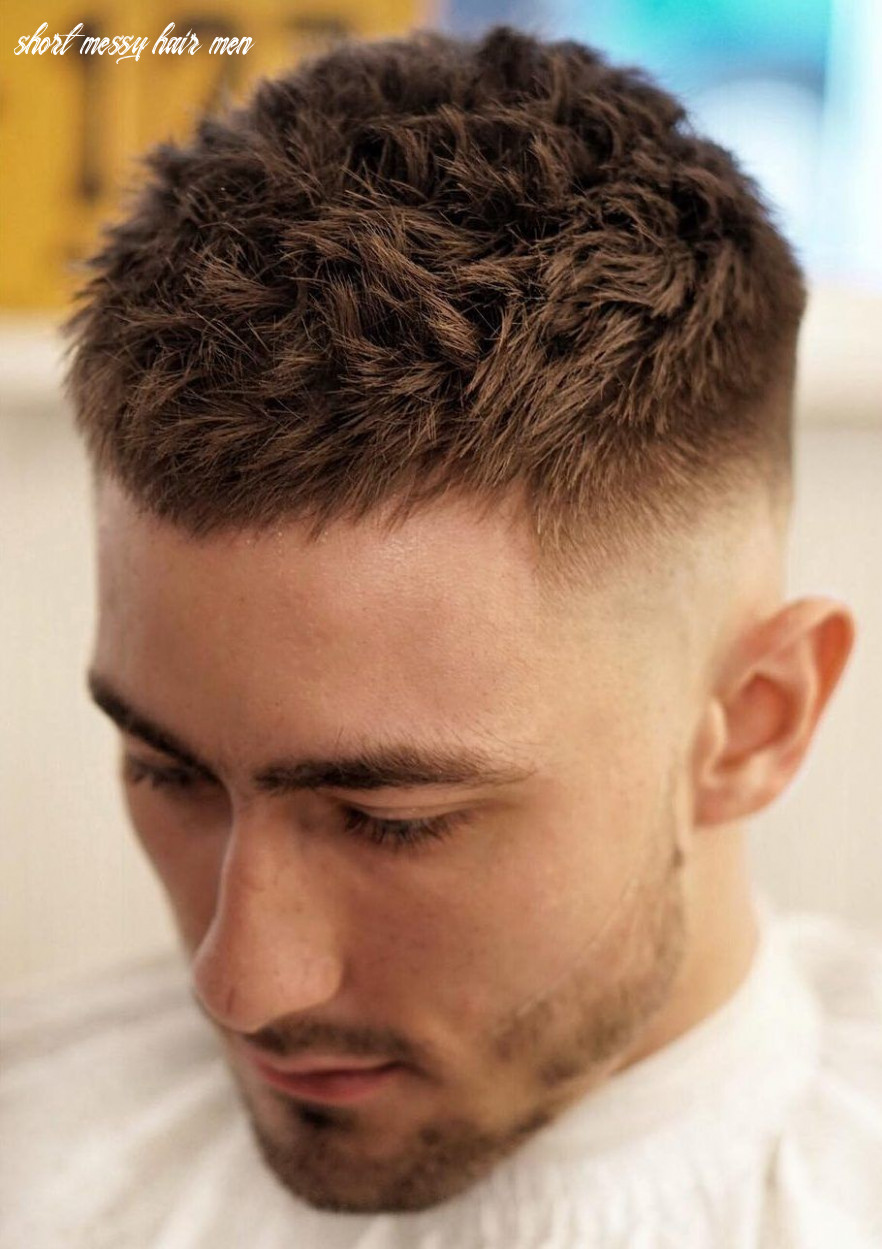 The 9 new short haircuts for men to look very hot in 9 and