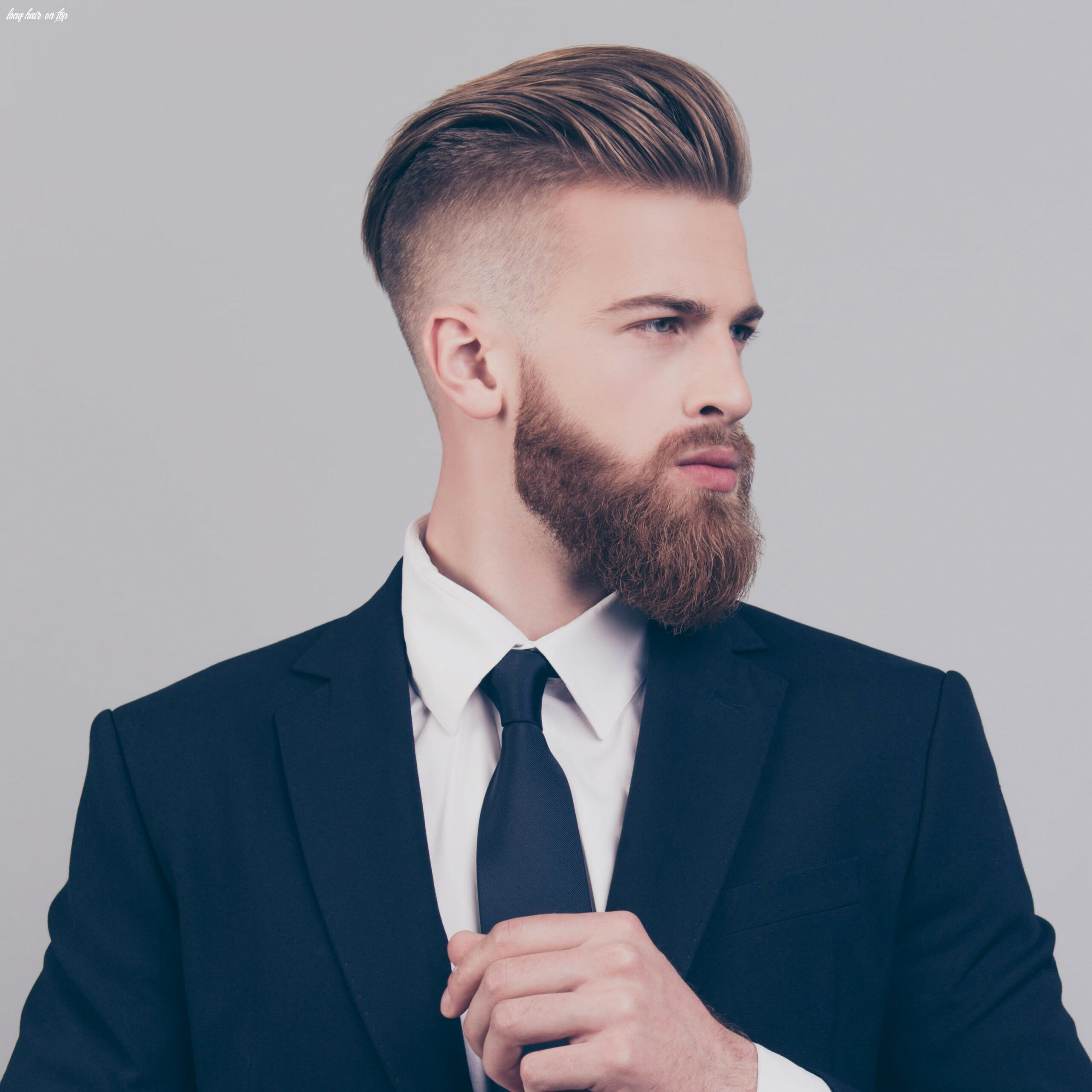 The best of both worlds: short sides & long top   haircut inspiration long hair on top