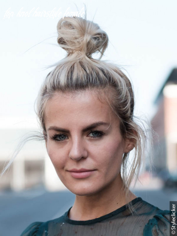 The best top knot styles top knot hairstyle female