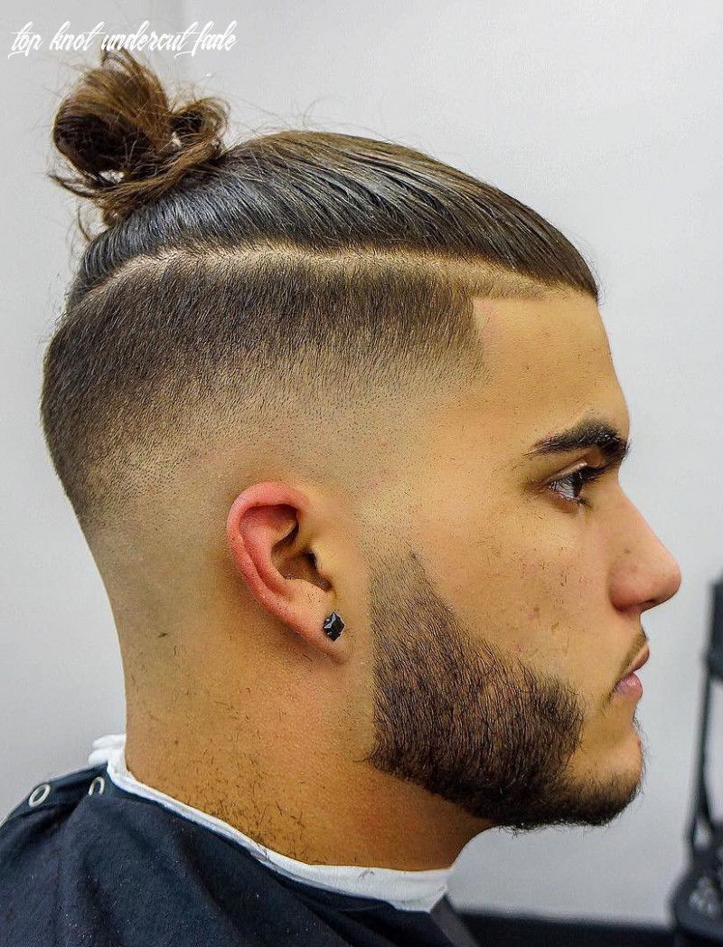 The top knot hairstyle visual guide for men (10 different styles) top knot undercut fade