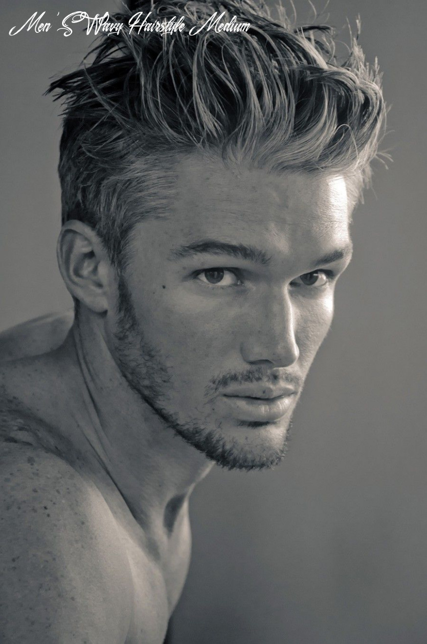 Top 8 mens wavy hairstyles to look stylish & fashionable   mens