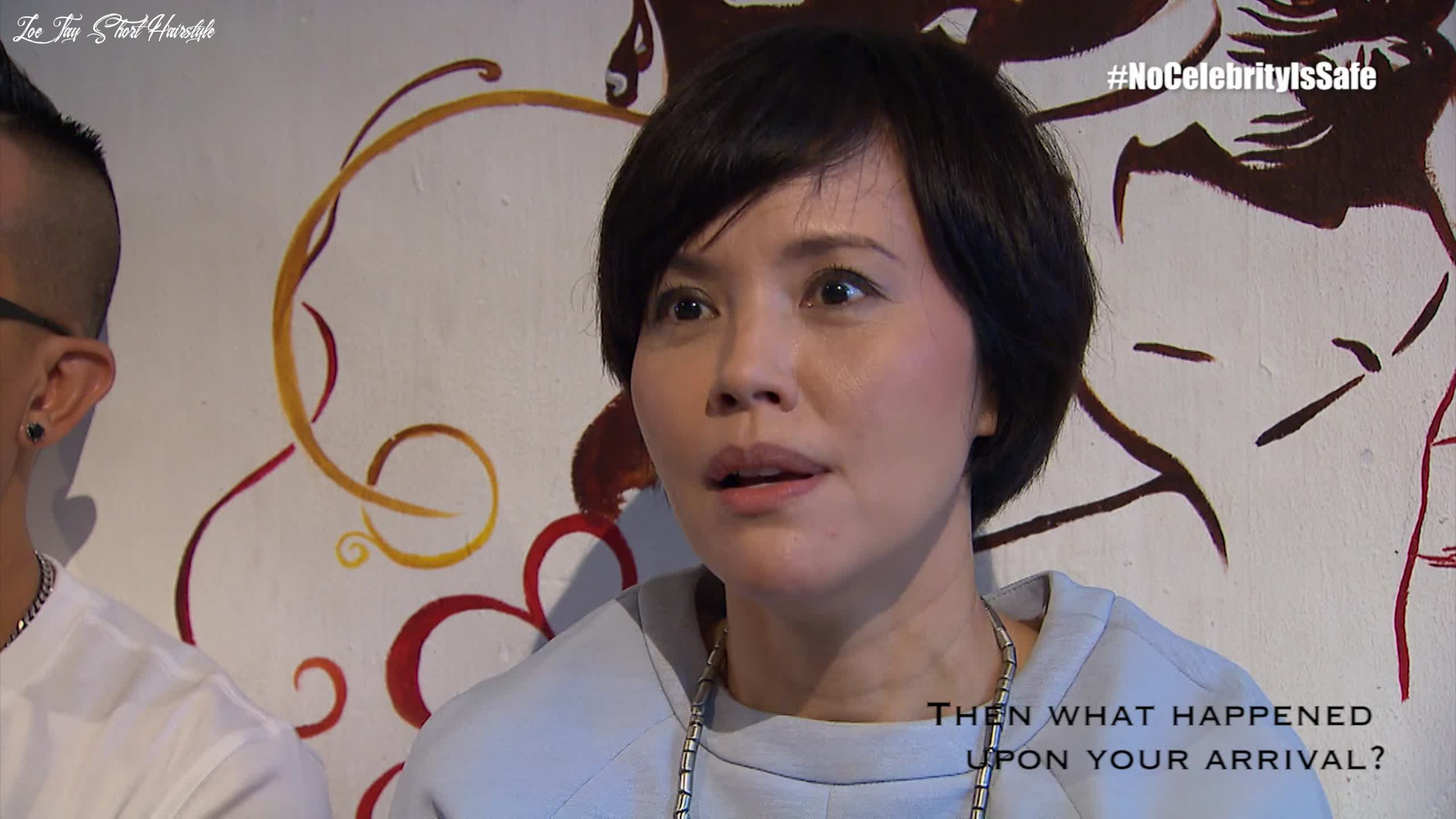 Zoe tay thoughts after being sabo ed mewatch zoe tay short hairstyle