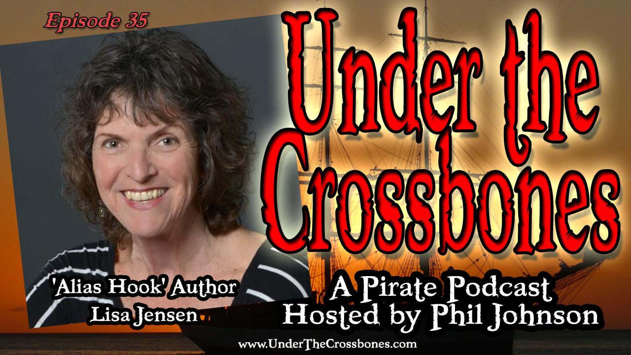 'Alias Hook' Author Lisa Jensen