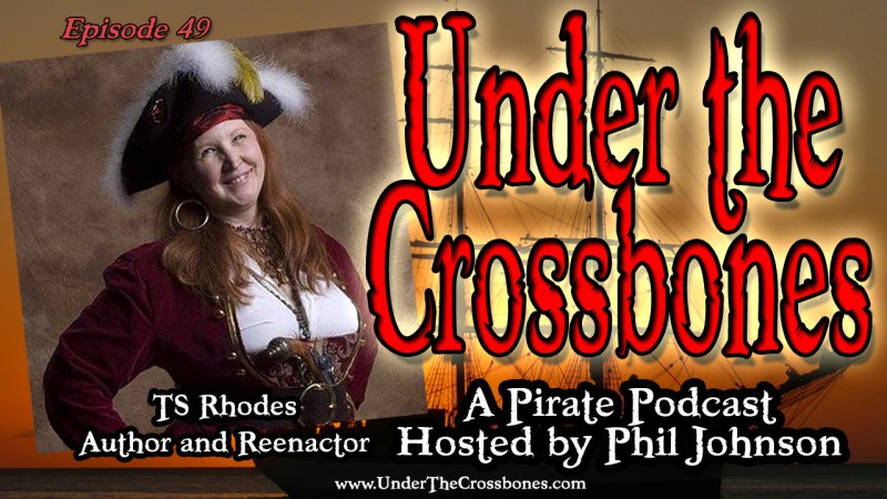 TS Rhodes - Pirate Author