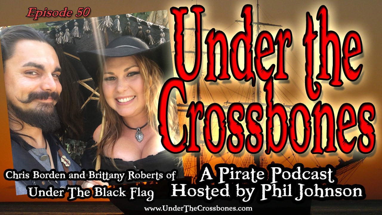 Chris Borden and Brittany Roberts of Under The Black Flag combat entertainment