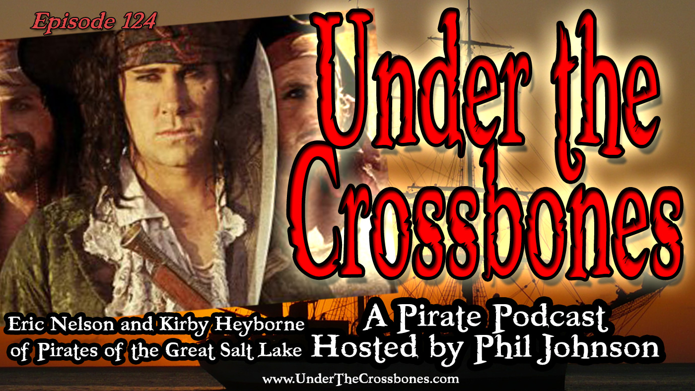 Eric Nelson and Kirby Heyborne of Pirates of the Great Salt Lake