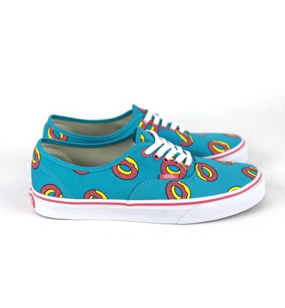 """18f50b1a113cbf Vans x Odd Future – """"Donut"""" Classic Sk8-Hi   Authentic ... - Shoes ..."""