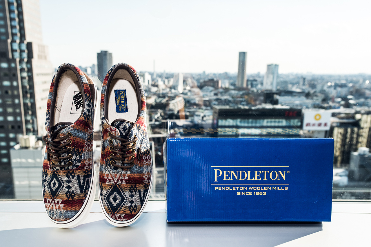 4eac385c37 Vans Japan x Pendleton – Collection (Fall Winter 2013)