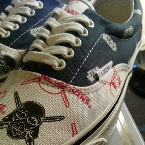 "via IG! @drew_mulalu: Vault x Star Wars Era LX ""Storm Pirates"" designed by Taka Hayashi right?  #underthepalms"