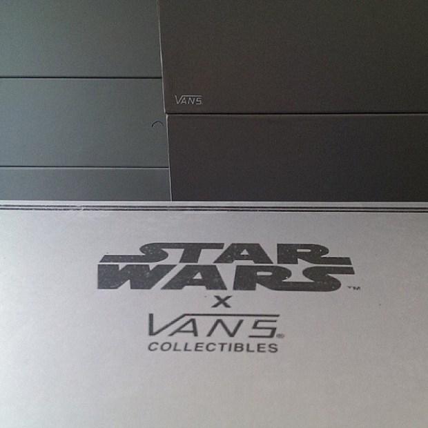 via IG! @andrestorvoll: Vans Vault x Star Wars - Drawer Boxes ftw! #underthepalms