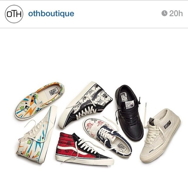 via IG! @othboutique Did you guys already release your pairs of the Vans Vault x Star Wars collection? #underthepalms #maythe4thbewithyou
