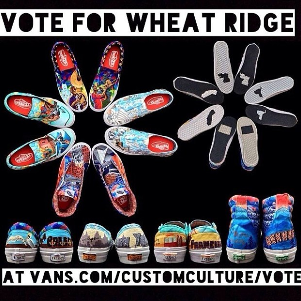 via IG! Vote for @wheatridge High School in this year's Custom Culture competition!  Website link is in the photo!  #wheatridge ( @shawng)