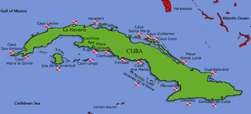 diving places in cuba